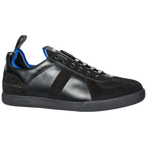 Nuove in Sneakers Uomo Dior Nero Scarpe Pelle xwFqgS10X