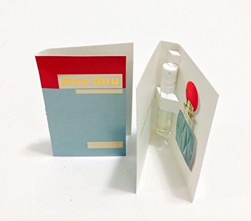 MIU MIU Eau de parfum Vial Sample 2 piece - 1.2ml/0.04 oz - Miu 2 Miu