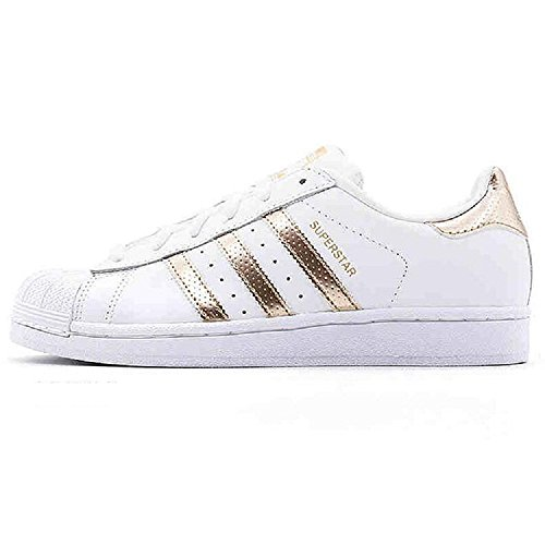 Adidas W Gold Sneakers Superstar Basses Rose Femme ggrTwaq