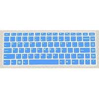 Folox Keyboard Protector Cover for Lenovo IdeaPad U300S U310 U330P U330T U400 U410 U430 U430T V4400 V4400U S410A S435 S436 Yoga 13, Yoga2 Pro, YOGA 3 14, U31-70 (Blue)