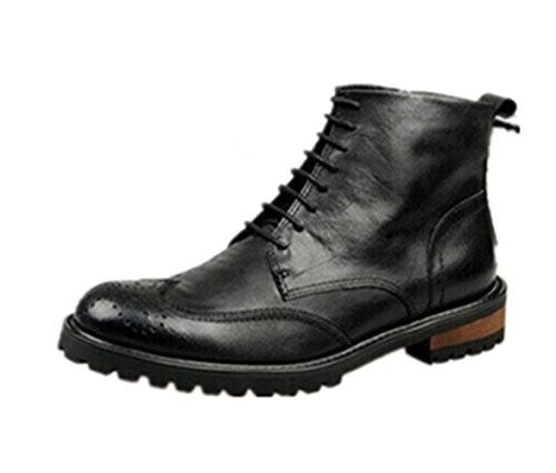 30OFF HAPPYSHOPTM Mens Real Leather High Shoes Martin Boots Army Boots