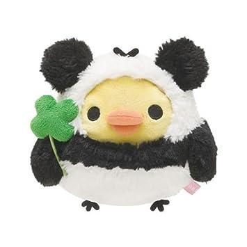Muñeco peluche kawaii Rilakkuma pollo amarillo disfraz oso panda