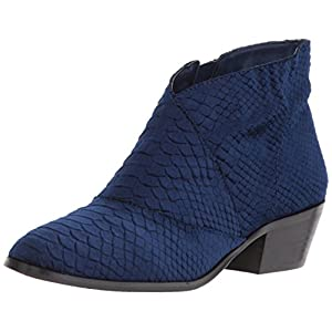 Very Volatile Women's Kyra Ankle Boot, Navy, 8 M US