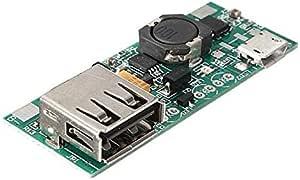 3.7V بطارية ليثيوم أيون مايكرو USB إلى USB A تطبيق وحدة الطاقة 5V 1A Charge Module
