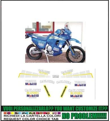 Emanuel & Co XT 750 Z Super TENERE Replica GAULOISES Paris Dakar: Amazon.es: Coche y moto