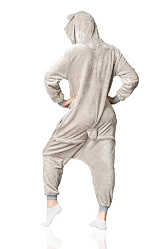 Nothing But Love Adult Koala Onesie Pajamas Kigurumi Animal Cosplay Costume Onsie Thick Fleece Pjs