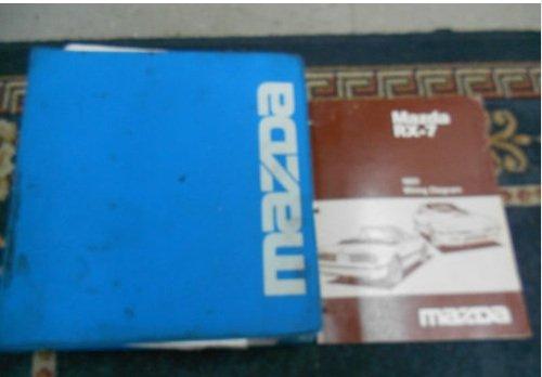 1991 Mazda Rx 7 Rx7 Service Shop Repair Manual Factory Set Book Dealership 1991 Mazda Rx 7 Service Repair Manual 1991 Mazda Rx 7 Wiring Diagram Manual Mazda Amazon Com Books