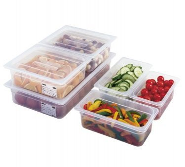 Cambro 30PPCH190 Food Pan Cover 1/3 size with handle - Case of 6 by Cambro