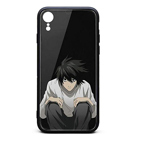 iPhone XR case Death-Note-Anime-L-Lawliet- Built-in Screen Protector Shockproof Rugged Cover for iPhone XR Cases