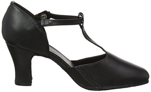 Scarpe So Donna Ballo Nero Ch57 Black da Danca BwxxpqTR