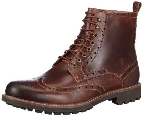 Clarks Men's Montacute Lord Boots, Brown (Dark Tan Lea)