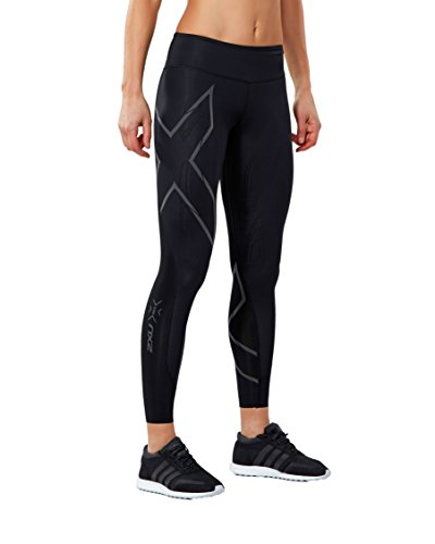 2XU Women's MCS Run Compression Tights (Black/Nero, Medium) ()
