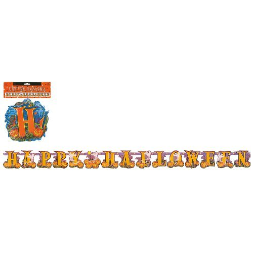 Amscan Happy Halloween Letter Banner Decoration 8 Feet