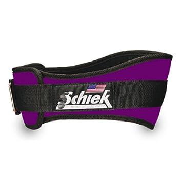 SCHIEK Nylon Lifting Belt-4 3 4 INCH Purple Extra Small