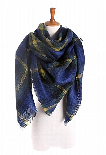 Oversized Plaid Blanket Scarf ShipFrom USA Zara Style Scarf Tartan Checked  Scarf at Amazon Women's Clothing store: