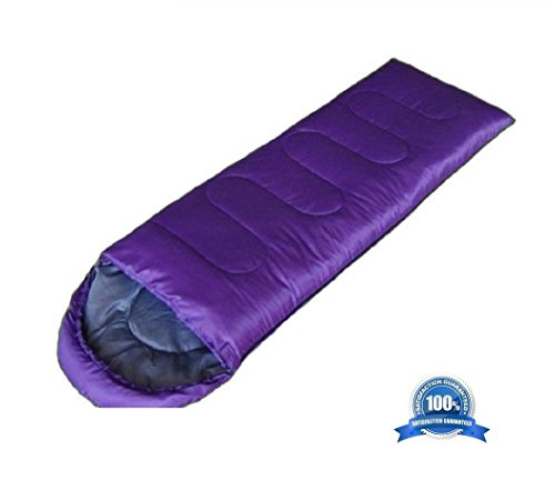 Mcolics 18075cm Sports Adventurer Mummy Ultra-Compactable Lightweight Sleeping Bag 15℃~5℃ – 7 Colors (Purple) Review