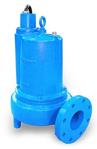 Barmesa Pumps 4BSE502SS Submersible Sewage Single Seal Non-Clog 4