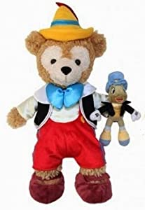 Disney Duffy Bear Clothes outfit Pinocchio Costume with Jiminy
