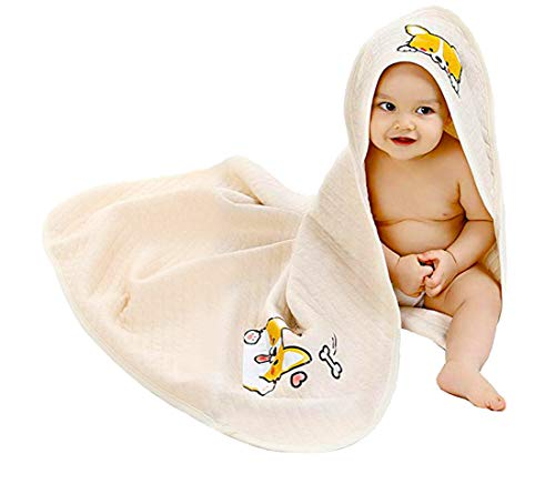 Unisex-Baby Newborn Corgi Print Unisex-Baby Organic Cotton Wearable Blanket Sleep Bag Blanket Sleeper for Baby (Beige)
