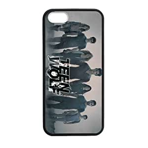 iPhone 5 Case, [Teen Wolf-Tyler Posey] iPhone 5,5s Case Custom Durable Case Cover for iPhone5s TPU case (Laser Technology) by runtopwell