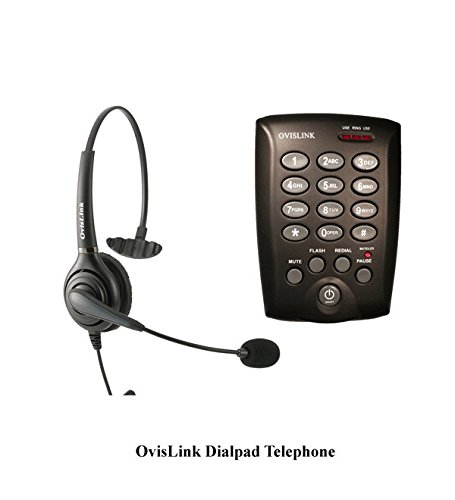 ephone with Single Ear Headset for Call Center ()