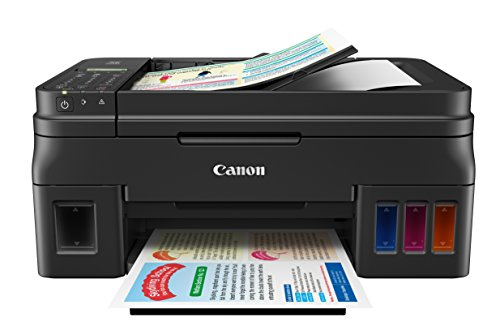 Canon PIXMA G4200 Wireless Mega Tank All-In-One Printer, Black, 8.5 x 11 inch