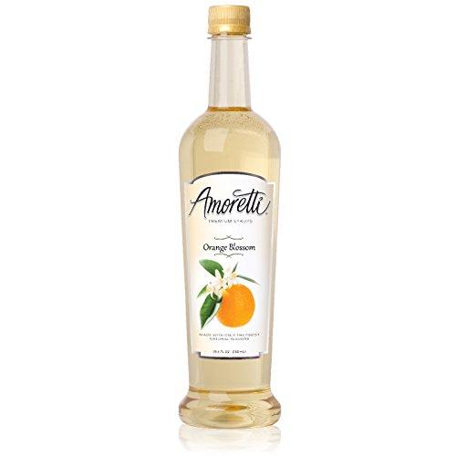Orange Blossom Positano - Amoretti Premium Syrup, Orange Blossom, 25.4 Ounce