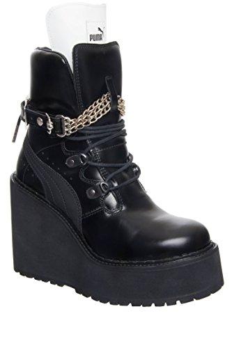 PUMA Women's SB Wedge Rihanna Puma Black/Puma Black/Puma Black Athletic Shoe by PUMA