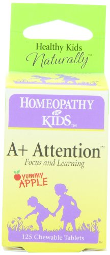 Herbs for Kids A+ Attention Tablets, 125 ()