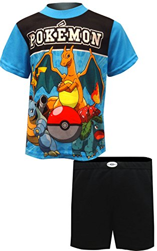 5cc5128252 AME Pokemon Pikachu and Friends Ready For Battle Pajamas For Big Boys (10)