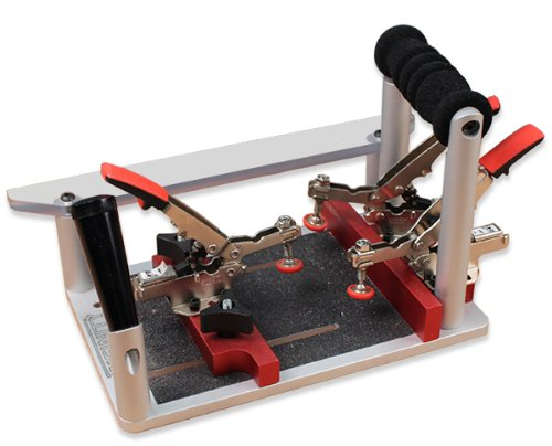 Professional Coping & Crosscut Sled w/Auto-Adjust Toggle Clamps by Infinity Cutting Tools