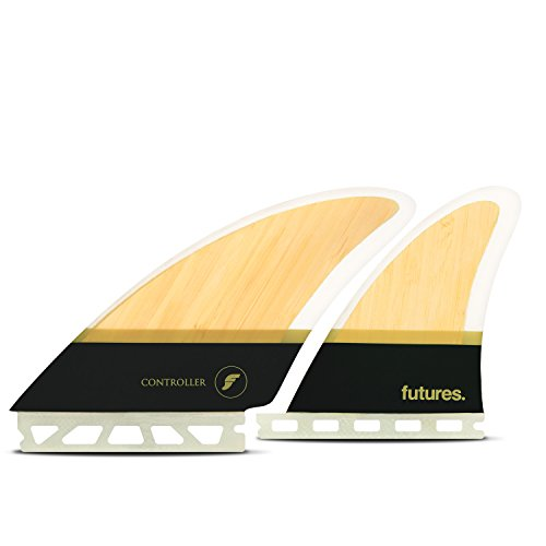 Futures Fins - Controller HC Quad - Bamboo/Brown