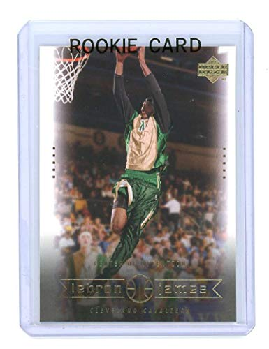 Upper Deck 2003 Mint - 2003 Upper Deck Center of Attention #4 Lebron James Rookie Card - Mint Condition Ships in a Brand New Holder