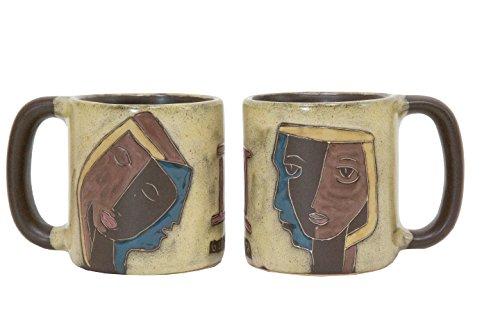 Mara Stoneware Zodiac Mug 16 oz - Gemini the Twins