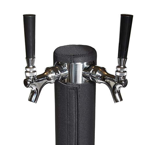 Keg Beer Insulator - Kegerator Tower Cooler Insulator for Beer Tap Towers by Redwood Brew Supply (3.0