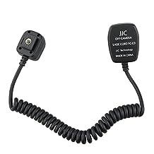 JJC FC-E3 (1.3M) TTL Off-Camera Hot Shoe Cord 1.3 meters for Canon replace OC-E3