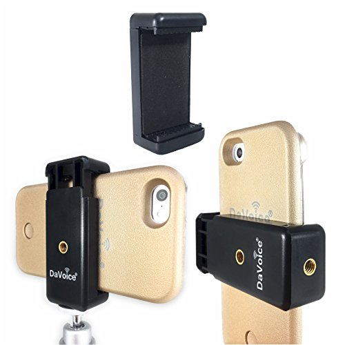 DaVoice iPhone Tripod Mount - Phone Tripod Mount - Tripod Phone Mount - For Portrait