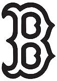 MLB Boston Red Sox (set of 2) Premium Waterproof Vinyl Decal Stickers for Laptop Macbook Phone Tablet Helmet Car Window Bumper Mug Tuber Cup Door Wall Decoration