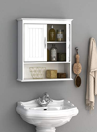 Spirich Home Bathroom Cabinet Wall Mounted