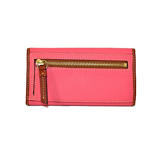 Continental Bourke Leather Bubble Gum Dooney amp; Pebble Clutch yIqcz1