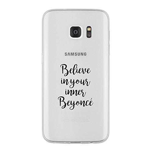 Samsung Galaxy S7 Edge Caso por licaso® para el patrón de Samsung Galaxy S7 Edge Pandicorn Panda Unicornio Amigos Divertido TPU de silicona ultra-delgada proteger su Samsung Galaxy S7 Edge es elegante Beyoncè