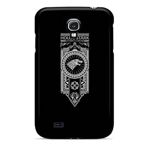 Samsung Galaxy S4 YiU17752vOtc Customized Attractive House Stark Pattern Great Hard Phone Case -AaronBlanchette