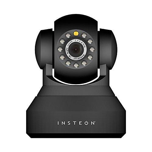 INSTEON 2864-226 HD IP Camera, Black [並行輸入品] B01JJH9IH0