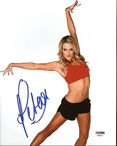 Peta Murgatroyd Dancing With The Stars Signed 8 X 10 Photograph   Psa Dna Authenticated