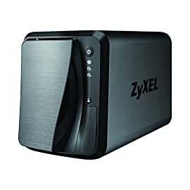 """Network Attached Storage Box 2 Four 2.5"""" or 3.5"""" SATA II hard disk the max support up to 64 TB (16 TB x 4) Reliable and secure data storage on your personal cloud with easy access online Screw less design for fast and easy drive installation"""