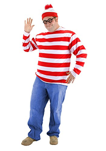 elope Where's Waldo Adult -