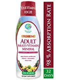 Tropical Oasis Adult Liquid Multivitamin & Mineral Supplement - 125 Total Nutrients including