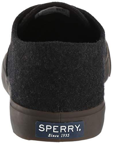 Schwarz CVO Wolle Sperry Top Captain's Sider Herren wqx8H7Z