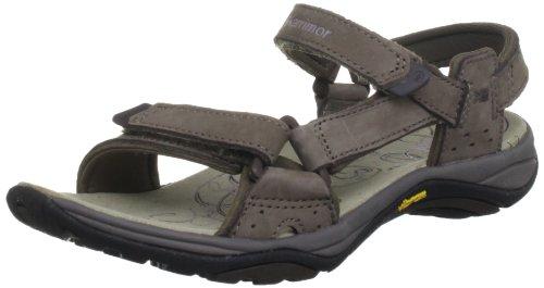 Karrimor Leather Travel Sandal F - Sandalias deportivas Mujer Marrón (Seal)