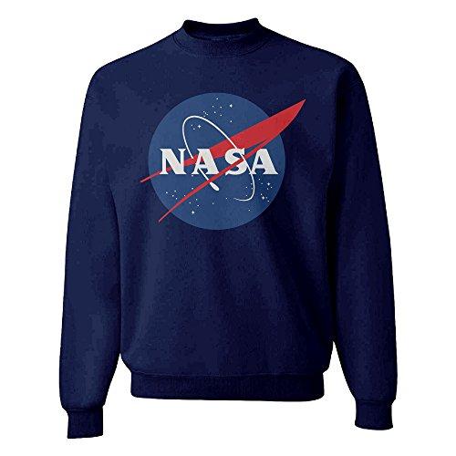 a-joking-mens-crew-neck-sweatshirt-hoodie-without-hat-nasa-logo-navy